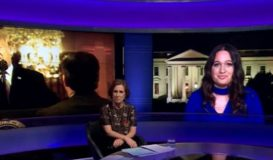 BBC Newsnight: Ksenija Pavlovic Mcateer talks about an incident with Jim Acosta