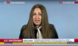 SKY NEWS- Ksenija Pavlovic Mcateer on Government Shutdown